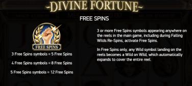 Divine Fortune Rotiri Gratuite