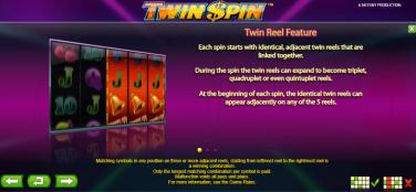 Twin Spin Twin Reel