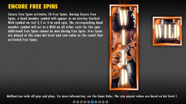 Guns N' Roses Encore Free Spins