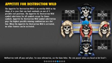 Guns N' Roses Appetite for Destruction Wild
