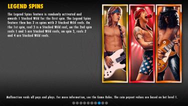 Guns N' Roses Legend Spins