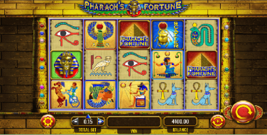 Pharaoh's Fortune Temă și Aspect