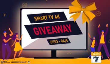 GIVEWAY LUNA MARTIE – SMART TV 4K cu diagonala de +160 CM