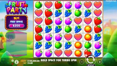 Fruit Play Temă și Aspect