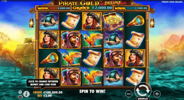 Pirate Gold Deluxe Theme & Graphics