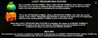 Pirate Gold Deluxe Special Symbols