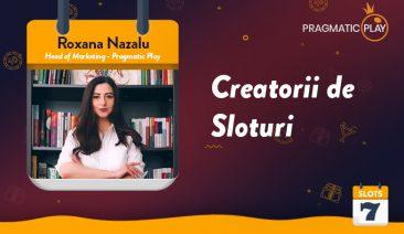 Fă cunoștință cu producătorii de jocuri – Interviu cu Roxana Nazalu de la Pragmatic Play