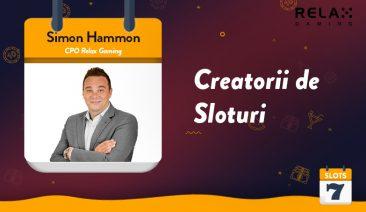 Fă cunoștință cu producătorii de jocuri – Interviu cu Simon Hammon de la Relax Gaming