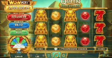 Queen of Alexandria Temă și Aspect