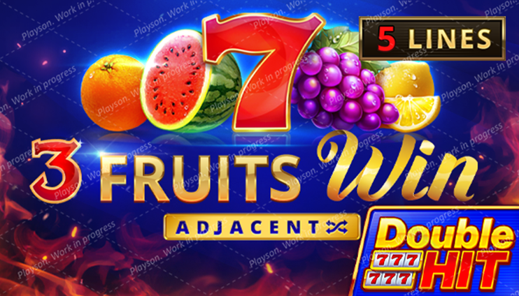 3 Fruits Win: Double Hit