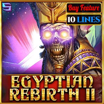 Egyptian Rebirth II – 10 Lines