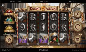 Knights of Fortune Temă și Aspect