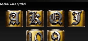 Knights of Fortune Simbol Special de Aur