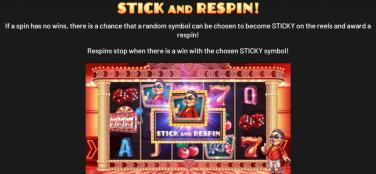 Mr Macau Stick și Respin