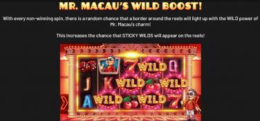 Mr Macau Mr Macau's Wild Boost