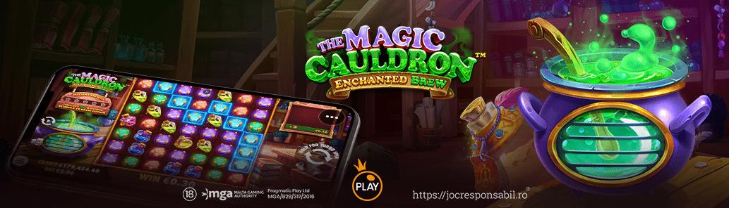 The Magic Cauldron – Enchanted Brew™
