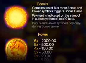 Buffalo Power Megaways Bonus