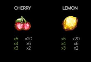 Fruit Hot Bonanza Simboluri