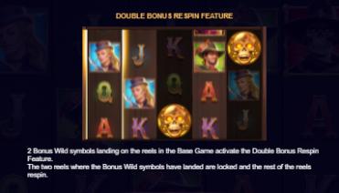 Bounty Showdown Double Bonus Respin Feature