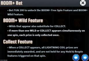 Lady Merlin Lightning Chase Runde Bonus