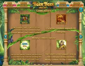 Tiger Tiger Runde Bonus