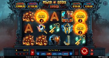 Power Of Gods Hades Temă și Aspect