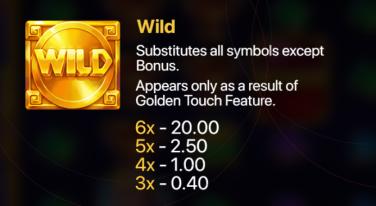 Hand of Gold Simboluri